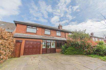 5 Bedrooms Semi Detached House for sale in Middleton Road, Hopwood, Greater Manchester