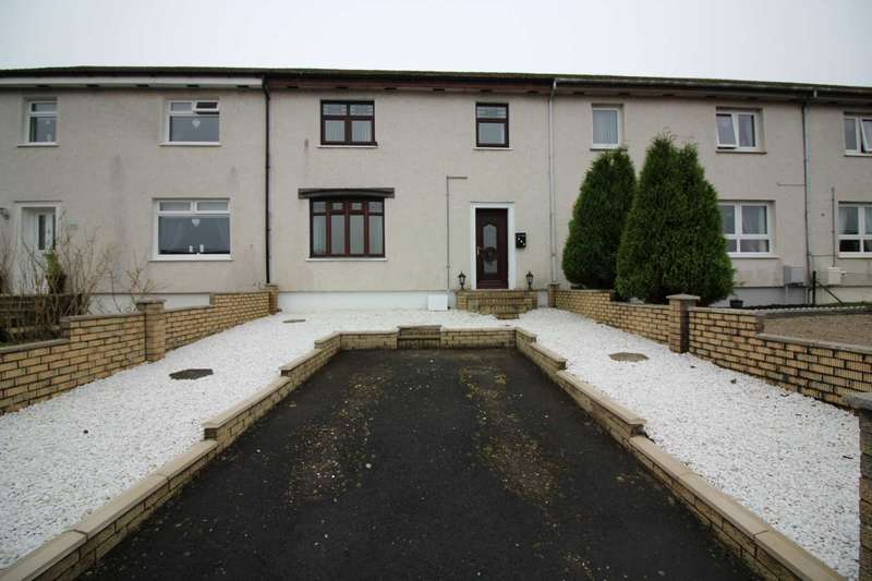 3 Bedrooms Terraced House for sale in Carnshalloch Avenue, Patna