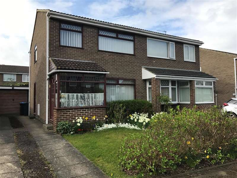3 Bedrooms Semi Detached House for sale in Nimbus Close, Marton-in-Cleveland, Middlesbrough, TS7 8SH