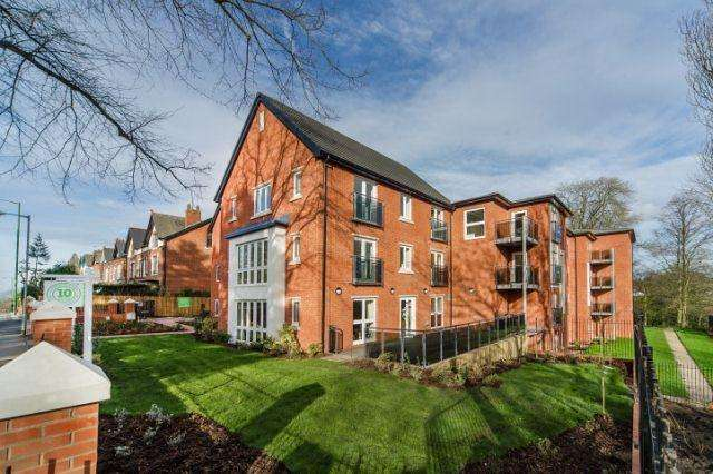 2 Bedrooms Flat for sale in Broadway North,Walsall,West Midlands