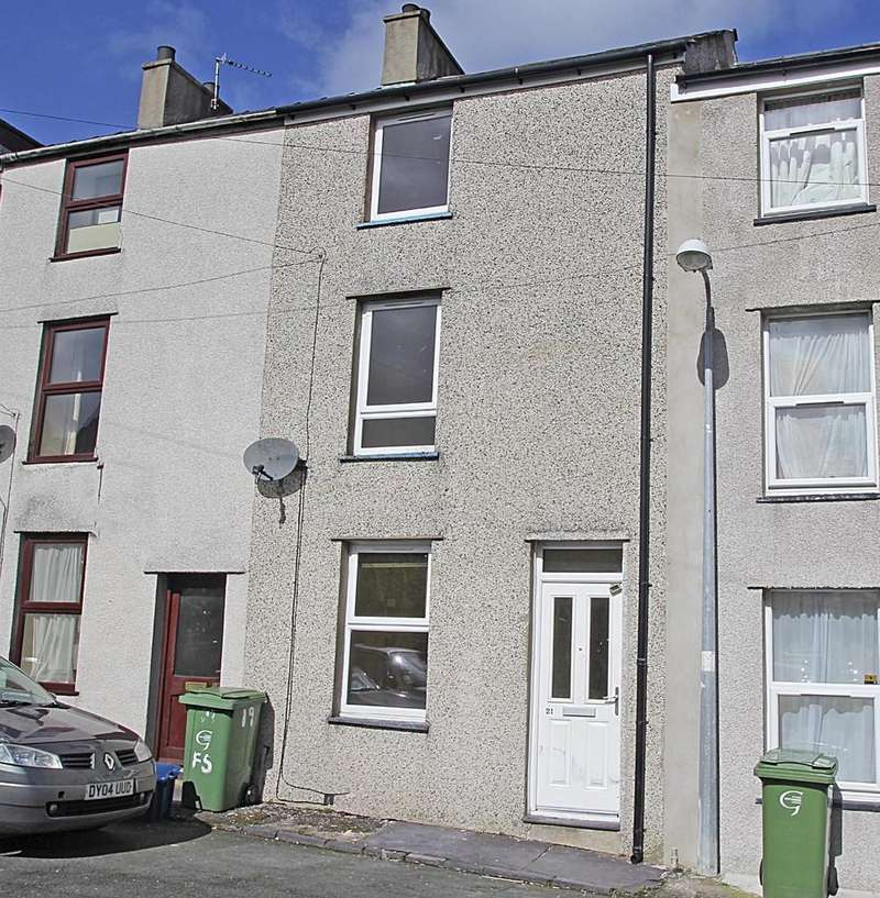 3 Bedrooms Terraced House for sale in Vron Square, Bangor, North Wales