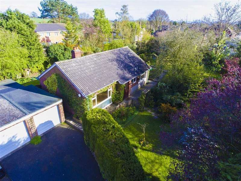 2 Bedrooms Detached Bungalow for sale in Brook Road, Bomere Heath, Shrewsbury, Shropshire