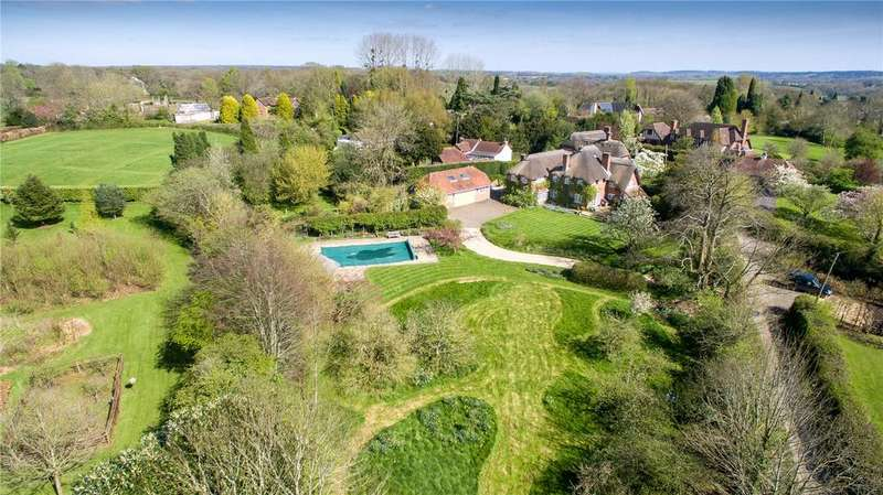 5 Bedrooms Detached House for sale in School Lane, Michelmersh, Romsey, Hampshire, SO51