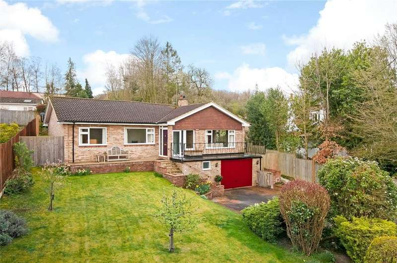 3 Bedrooms Detached Bungalow for sale in Coley Lane, Chilbolton, Hampshire, SO20