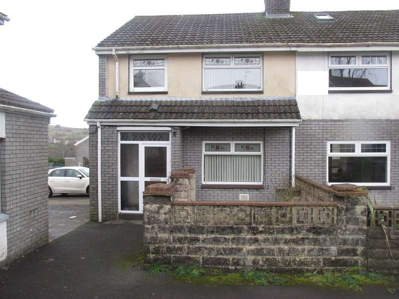 3 Bedrooms Semi Detached House for sale in Heol Rhyd Y Bedd, Pant, Merthyr Tydfil