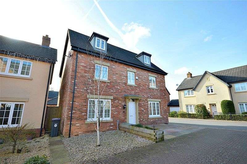 5 Bedrooms Detached House for sale in John Fielding Gardens, Cwmbran