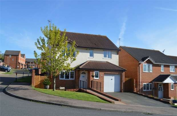 4 Bedrooms Detached House for sale in 33 Chaucer Rise, EXMOUTH, Devon