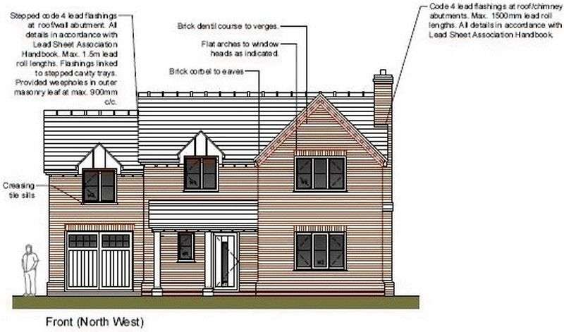 4 Bedrooms Detached House for sale in BROADWELL, NR. COLEFORD, GLOUCESTERSHIRE