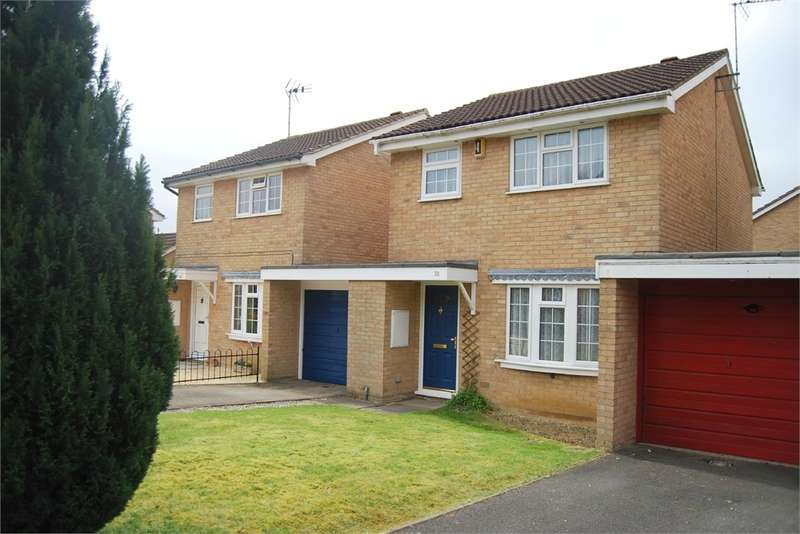 3 Bedrooms Link Detached House for sale in Rosedale Avenue, Stonehouse, Gloucestershire