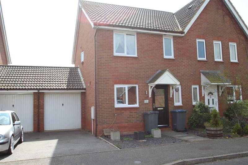3 Bedrooms Semi Detached House for sale in Jeavons Lane, Grange Farm, Kesgrave, Ipswich