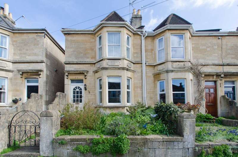 3 Bedrooms End Of Terrace House for sale in Charmouth Road, Bath