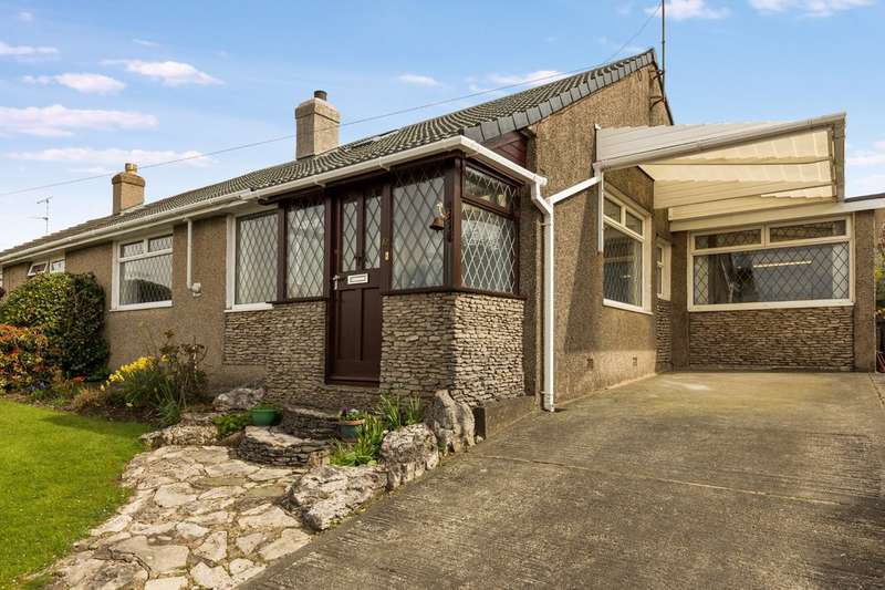 3 Bedrooms Semi Detached Bungalow for sale in 12 Wordsworth Drive, Kendal, Cumbria, LA9 7JW