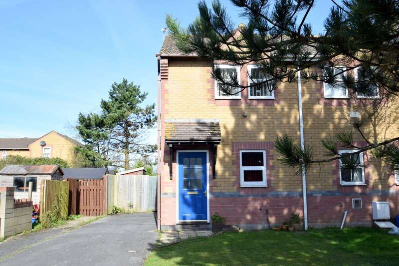 2 Bedrooms Semi Detached House for sale in 1 Tythegston Close, Nottage, Porthcawl, Bridgend County Borough, CF36 3HJ