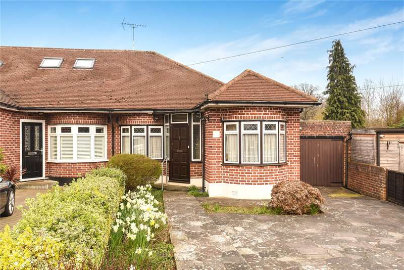 2 Bedrooms Semi Detached Bungalow for sale in Coniston Gardens, Pinner, Middlesex, HA5