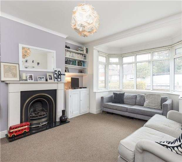 3 Bedrooms Semi Detached House for sale in Wandle Road, MORDEN, Surrey, SM4 6AQ
