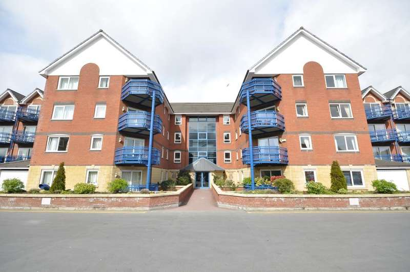 2 Bedrooms Apartment Flat for sale in Mountbatten Close, Preston, Lancashire, PR2 2XF