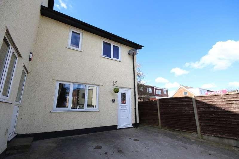 2 Bedrooms Semi Detached House for sale in Bunker Street, Freckleton, Preston, Lancashire, PR4 1HA