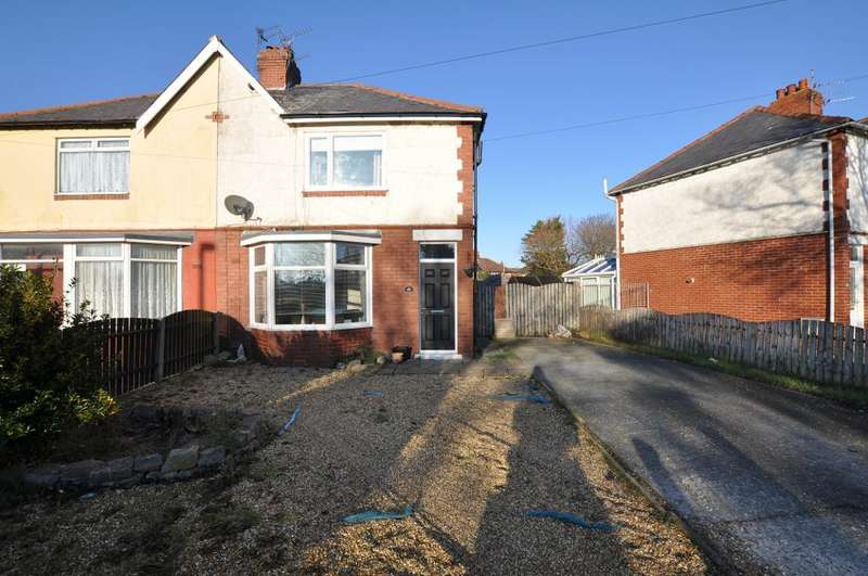3 Bedrooms Semi Detached House for sale in Heeley Road, Lytham St Annes, Lancashire, FY8 2HR