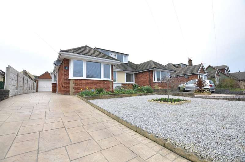 3 Bedrooms Semi Detached Bungalow for sale in Summit Drive, Freckleton, Preston, Lancashire, PR4 1PP
