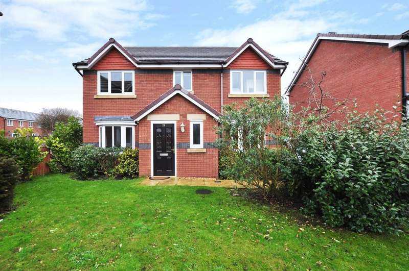 4 Bedrooms Detached House for sale in Tennyson Avenue, Warton, Preston, Lancashire, PR4 1BL