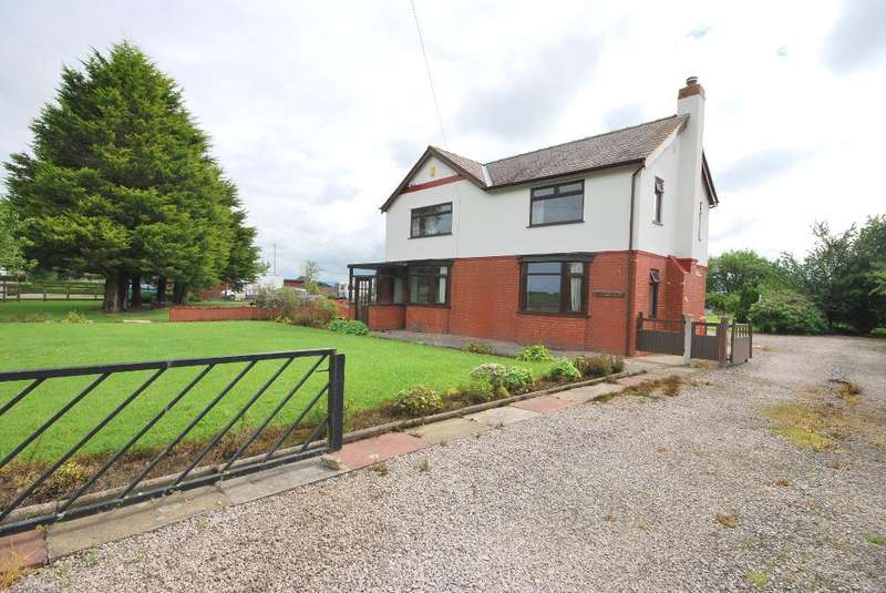 4 Bedrooms Detached House for sale in Lancaster Road, Out Rawcliffe, Preston, PR3 6BL
