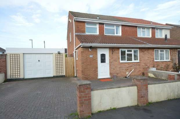 3 Bedrooms Semi Detached House for sale in Atkins Close, Stockwood, BS14