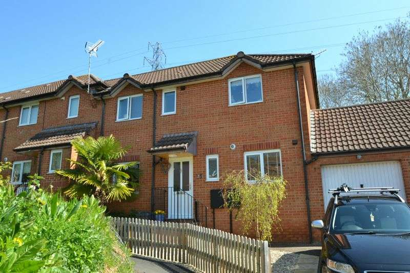 3 Bedrooms End Of Terrace House for sale in LOVERING CLOSE, EXMOUTH, NR EXETER