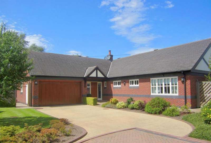 4 Bedrooms Detached Bungalow for sale in Meadows Gate, Crowton, CW8