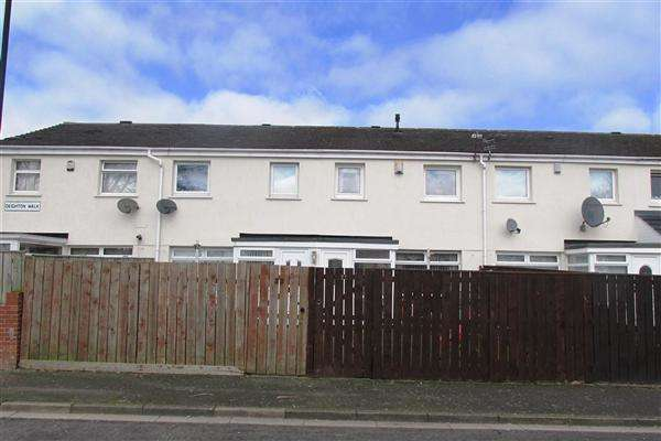 3 Bedrooms Terraced House for sale in Deighton Walk, Newcastle upon Tyne