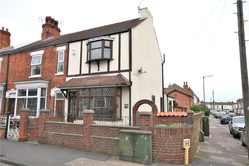 3 Bedrooms End Of Terrace House for sale in Thrunscoe Road, Cleethorpes, DN35