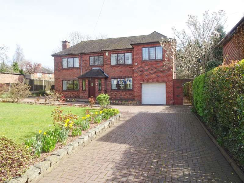 4 Bedrooms Detached House for sale in Weston Road, ST3 6AT