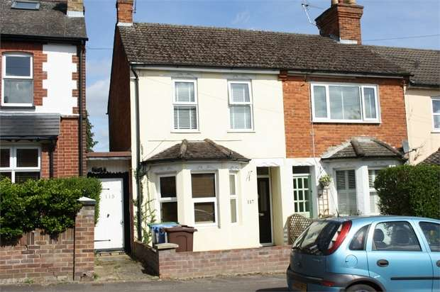3 Bedrooms End Of Terrace House for sale in Holly Road, ALDERSHOT, Hampshire