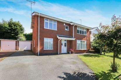 4 Bedrooms Detached House for sale in St Andrews Road, Colwyn Heights, Colwyn Bay, Conwy, LL29