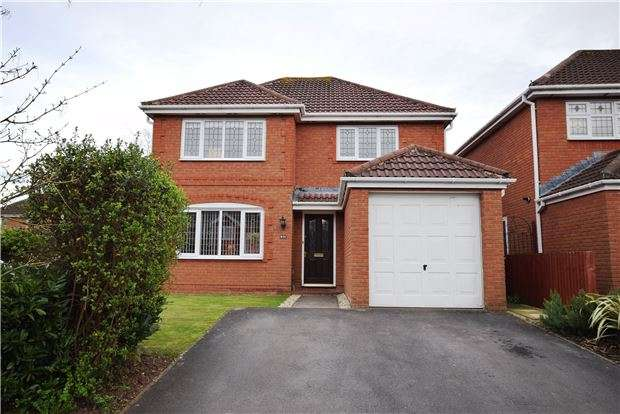 4 Bedrooms Detached House for sale in Colliers Break, Emersons Green, BRISTOL, BS16 7EE