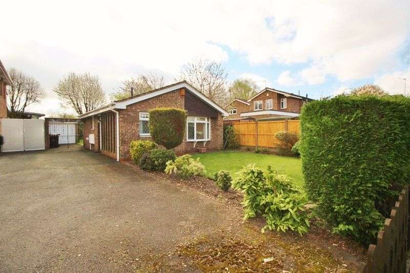 2 Bedrooms Detached Bungalow for sale in Stubbington Close, Willenhall