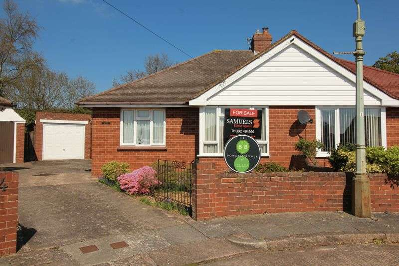 2 Bedrooms Semi Detached Bungalow for sale in Woolsery Close, Exeter