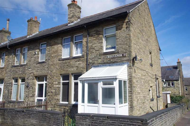 4 Bedrooms End Of Terrace House for sale in Grosvenor Street, Elland