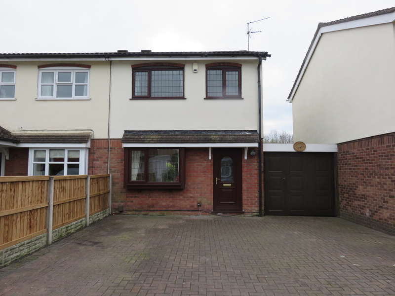 3 Bedrooms Semi Detached House for sale in Chamberlain Way, Biddulph