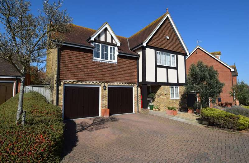 5 Bedrooms Detached House for sale in Pochard Crescent, Herne Bay
