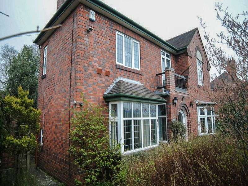 3 Bedrooms Detached House for sale in Uttoxeter Road, Meir, Stoke-On-Trent, ST3 5PY