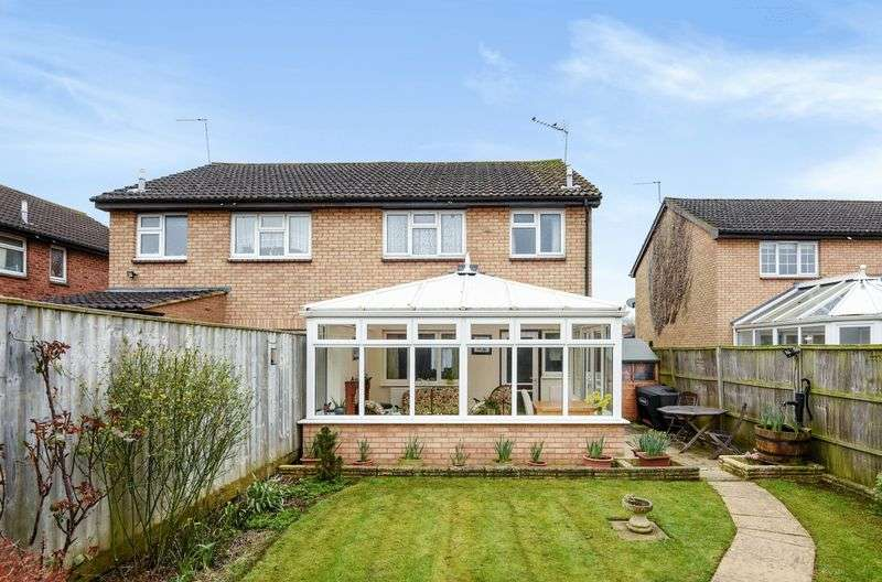 3 Bedrooms Semi Detached House for sale in Peachcroft Road, Abingdon