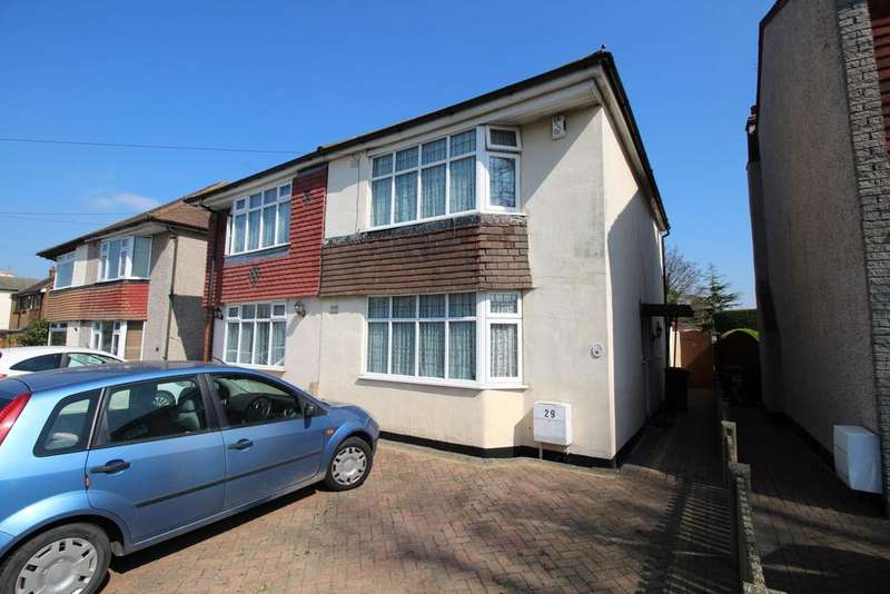 3 Bedrooms Semi Detached House for sale in Carlton Avenue Greenhithe DA9