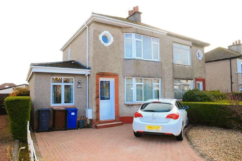 3 Bedrooms Semi Detached House for sale in Balmoral Road, Elderslie