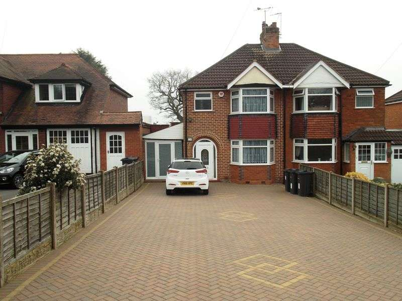 3 Bedrooms Semi Detached House for sale in Redditch Road, Kings Norton, Birmingham