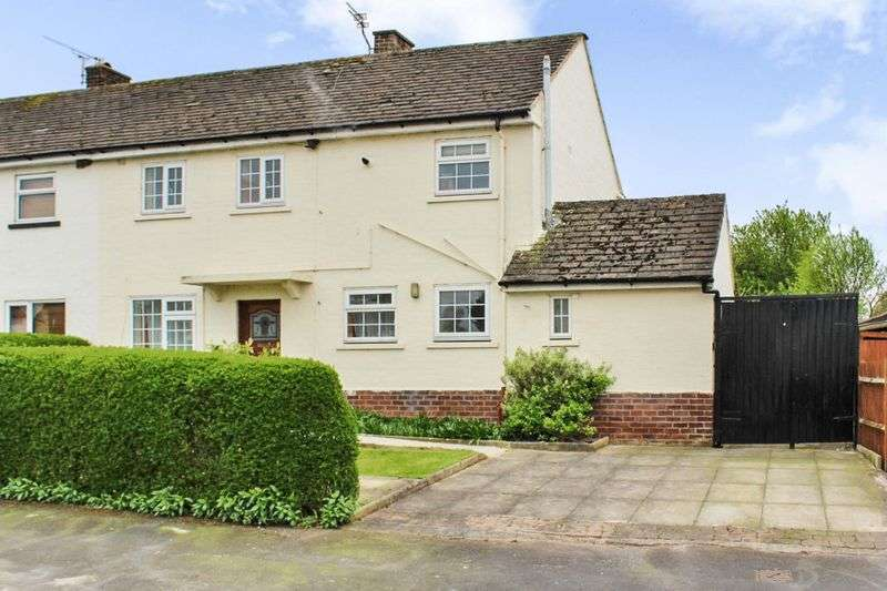 3 Bedrooms Semi Detached House for sale in Talbot Road, Dunham on the Hill, Frodsham