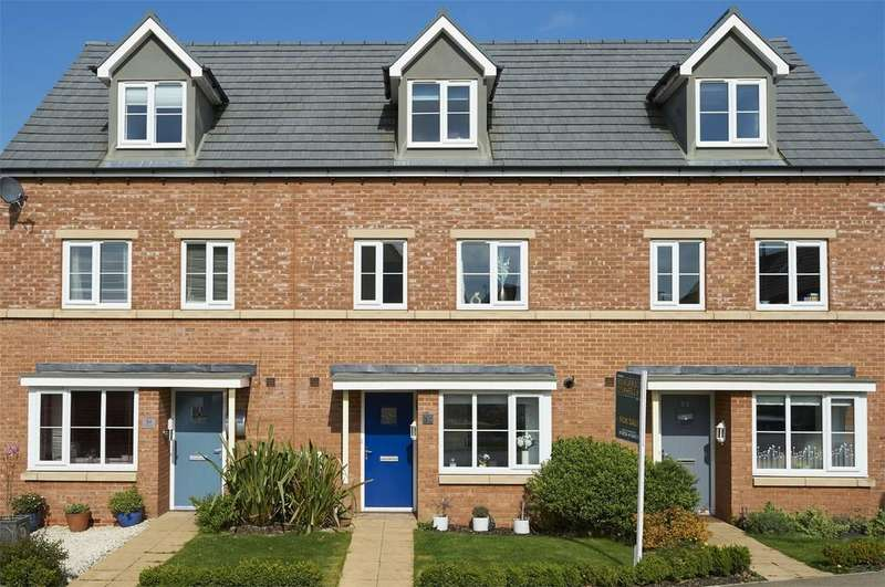 4 Bedrooms Terraced House for sale in Freshman Way, Market Harborough, Leicestershire