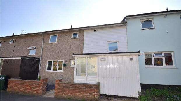 3 Bedrooms Terraced House for sale in Ashbourne, Bracknell, Berkshire