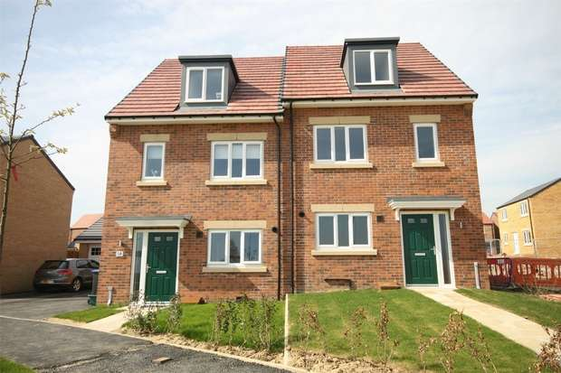 3 Bedrooms Semi Detached House for sale in *PLOT 112 Corner Plot*, Eden Field, Newton Aycliffe, Durham