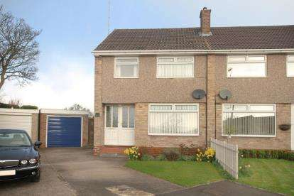 3 Bedrooms Semi Detached House for sale in Totley Grange Road, Sheffield, South Yorkshire