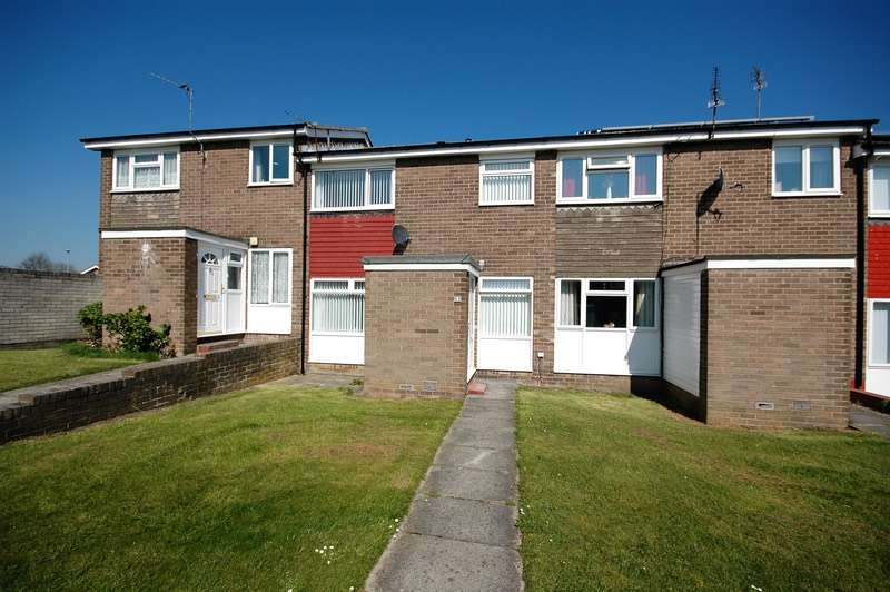 2 Bedrooms Terraced House for sale in chesterhill, cramlington, Northumberland, NE23
